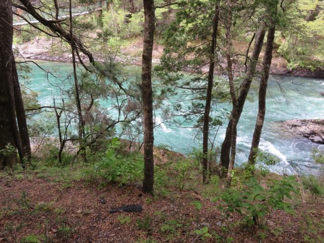 Olha a cor dessa água :O