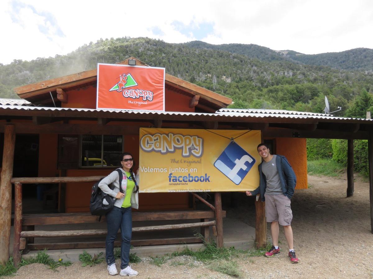 Canopy – Arvorismo - em Bariloche