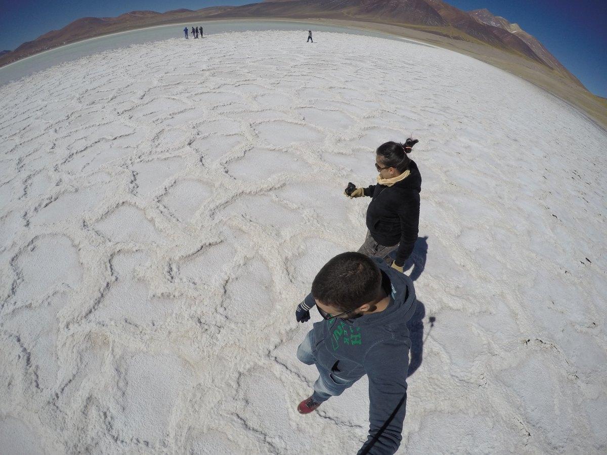 Salar de Talar e Laguna Tuyajto - Deserto do Atacama
